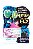 Return of the Fly - Movie Poster Reproduction Art