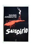 Suspiria - Movie Poster Reproduction Schilderij