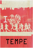 I Heart Running Tempe Prints