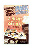 A Night at the Opera - Movie Poster Reproduction Posters