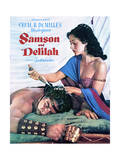 Samson and Delilah - Movie Poster Reproduction Print