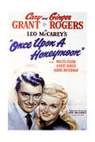 Once Upon a Honeymoon - Movie Poster Reproduction Poster