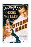 Citizen Kane - Movie Poster Reproduction Print