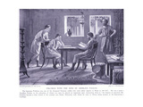 Polybius with the Sons of Aemilius Paulus Giclee Print by A.C. Weatherstone
