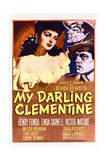 My Darling Clementine - Movie Poster Reproduction Prints
