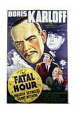The Fatal Hour - Movie Poster Reproduction Poster