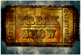 Freak Show Ticket 5 Posters