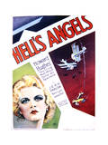 Hell's Angels - Movie Poster Reproduction Prints