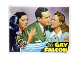 The Gay Falcon - Lobby Card Reproduction Obrazy