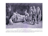 Scipio at the Deathbed of Masinissa Giclee Print by A.C. Weatherstone