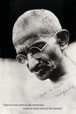 Gandhi Quote Prints
