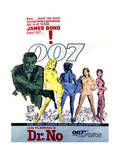 Dr. No - Movie Poster Reproduction Print