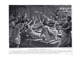 The Murder of Sertorius 72 BC Giclee Print by A.C. Weatherstone