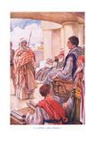 """I Appeal Unto Caesar"" Giclee Print by Arthur A. Dixon"