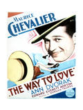 The Way to Love - Movie Poster Reproduction Art