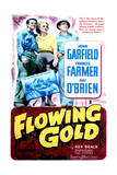 Flowing Gold - Movie Poster Reproduction Print