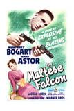 The Maltese Falcon - Movie Poster Reproduction Giclée-Premiumdruck