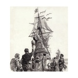 The Golden Hind Giclee Print by C.l. Doughty