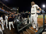 NLCS - St Louis Cardinals v San Francisco Giants - Game Five Photographic Print by Thearon W. Henderson
