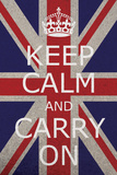 Keep Calm Union Jack Photo