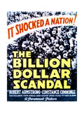 Billion Dollar Scandal - Movie Poster Reproduction Print