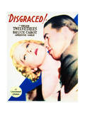 Disgraced! - Movie Poster Reproduction Art