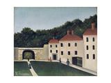 Promeneurs Dans Un Parc, 1908 Giclee Print by Henri J.F. Rousseau