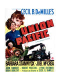 Union Pacific - Movie Poster Reproduction Prints