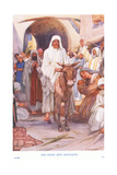 The Entry into Jerusalem Giclee Print by Arthur A. Dixon