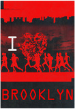 I Heart Running Brooklyn Posters