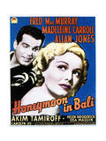 Honeymoon in Bali - Movie Poster Reproduction Prints