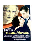 Trouble in Paradise - Movie Poster Reproduction Prints