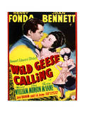 Wild Geese Calling - Movie Poster Reproduction Posters