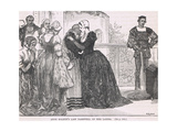 Ann Boleyn's Last Farewell to Her Ladies Giclee Print by Mary L. Gow