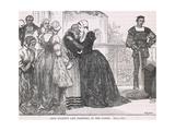 Ann Boleyn's Last Farewell to Her Ladies Giclee Print by Mary L. Gow