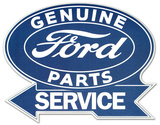 Ford Service Wood Sign