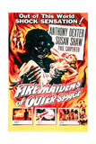 Fire Maidens of Outer Space - Movie Poster Reproduction Plakat