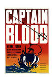 Captain Blood - Movie Poster Reproduction Posters
