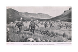 The Attack on the Boer Position Near Fouriesburg Giclee Print by Percy F.s. Spence