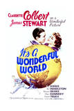 It's a Wonderful World - Movie Poster Reproduction Poster