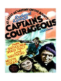 Captains Courageous - Movie Poster Reproduction Posters