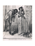 Prince Charles Farewell of the Infanta 1623 Giclee Print by Mary L. Gow
