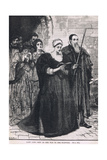 Lady Jane Grey on Her Way to the Scaffold 1554 Giclee Print by Mary L. Gow