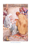 The Visit of the Wise Men Giclee Print by Arthur A. Dixon