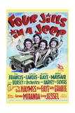 Four Jills in a Jeep - Movie Poster Reproduction Posters