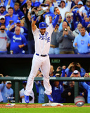 Eric Hosmer celebrates winning Game 4 of the 2014 American League Championship Series Photo
