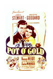 Pot o' Gold - Movie Poster Reproduction Posters
