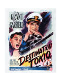 Destination Tokyo - Movie Poster Reproduction Affischer