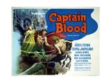 Captain Blood - Lobby Card Reproduction Prints