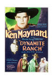 Dynamite Ranch - Movie Poster Reproduction Poster